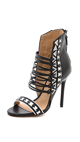 L.A.M.B. Savannah Strappy Sandals