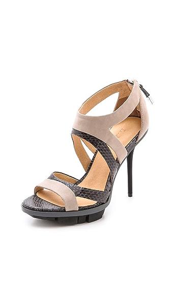 L.A.M.B. Follie Cutout Sandals