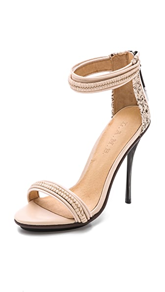 L.A.M.B. L.A.M.B. Kanye Haircalf Sandals (Beige\/Sand\/Tan)