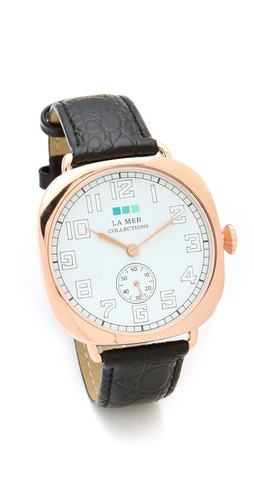 La Mer Collections Vintage Oversized Watch at Shopbop / East Dane