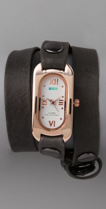 La Mer Collections Soho Wrap Watch