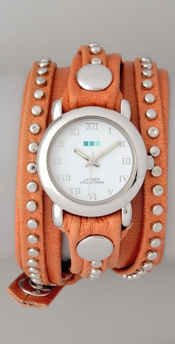 La Mer Collections Bali Stud Wrap Watch