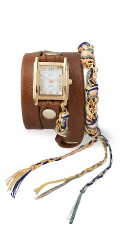 La Mer Collections Primary Friendship Bracelet Watch at Shopbop.com
