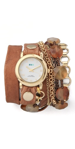 Shop La Mer Collections Sedona Stones Watch and La Mer Collections online - Accessories,Womens,Jewelry,Watches, online Store