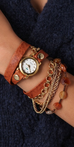La Mer Collections Sedona Stones Watch
