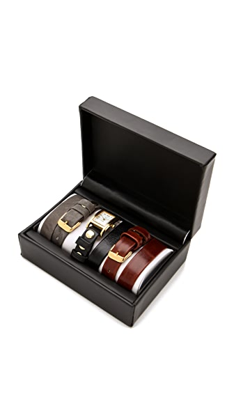 La Mer Collections Watch & Interchangeable Straps