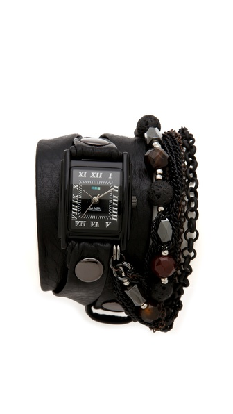 La Mer Collections Lava Stones Wrap Watch