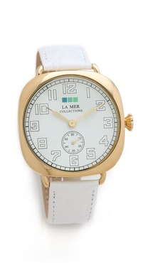 La Mer Collections Vintage Oversized Watch
