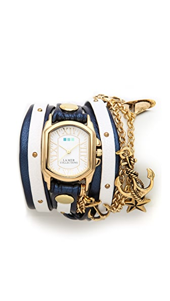La Mer Collections Chateau Wrap Watch