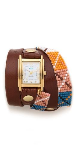 La Mer Collections Guatemala Wrap Watch