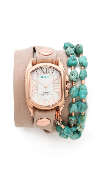 La Mer Collections Chateau Beaded Watch