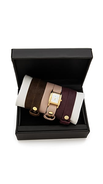 La Mer Collections Interchangeable Wrap Watch Box Set