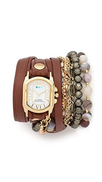 La Mer Collections Positano Wrap Watch