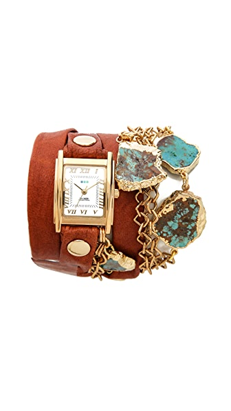 La Mer Collections Durango Wrap Watch
