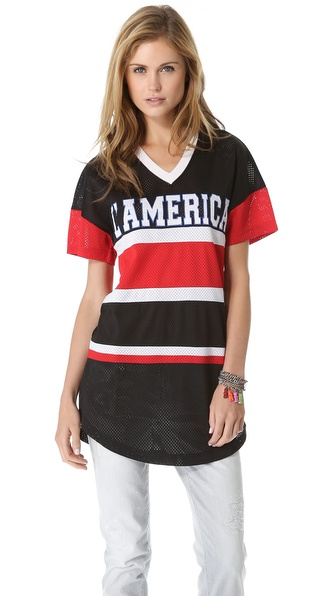 L'AMERICA Dream Team Oversized Tunic