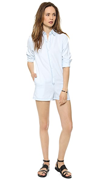 L'AMERICA Sheea Long Sleeve Romper