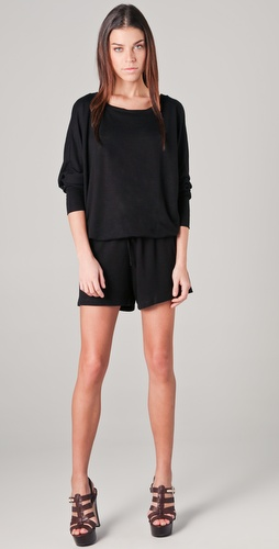 Lanston Boyfriend Romper