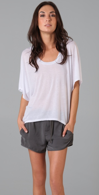 Lanston Oversized Scoop Tee