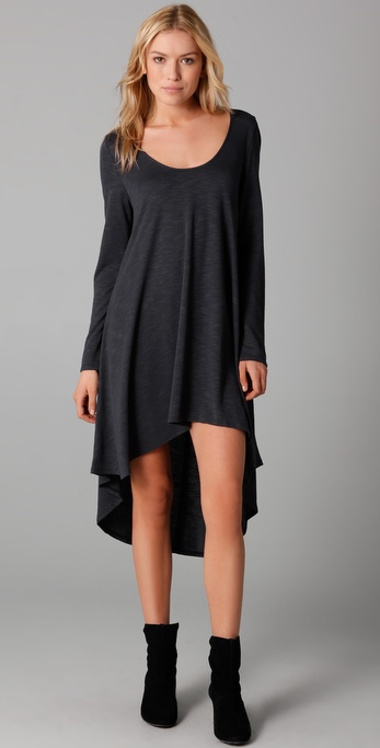Lanston High / Low Midi Dress