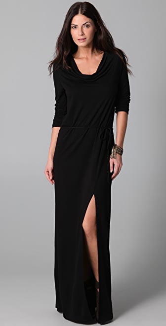 Lanston Drape Maxi Dress