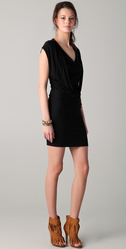Lanston Draped Dress