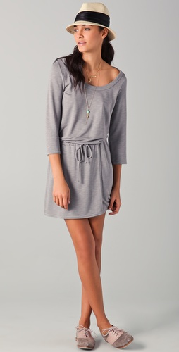 Lanston Scoop Neck Dress