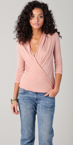 Lanston Surplice Top