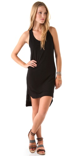 Lanston Banded Racer Back Mini Dress