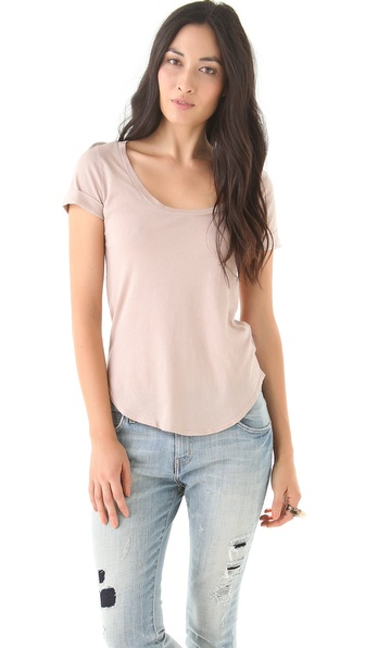 Lanston Tucked Sleeve Tee