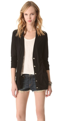 Lanston Button Front Cardigan at Shopbop.com