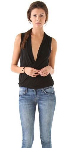 Lanston Surplice Pullover Top at Shopbop.com