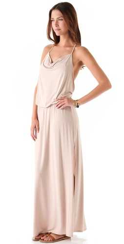 Lanston Drape Racer Back Maxi Dress at Shopbop.com