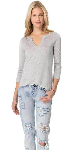Lanston Split V Top at Shopbop.com
