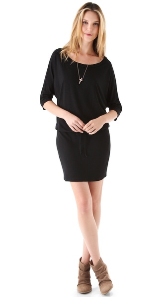 Lanston Boyfriend Mini Dress - Black at Shopbop / East Dane