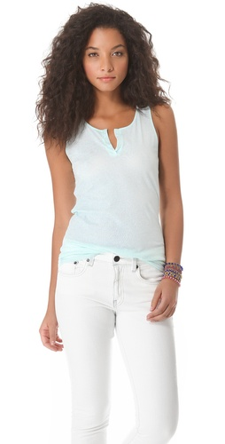 Lanston Split V Tank at Shopbop.com