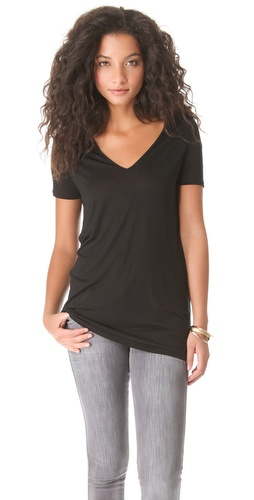 Lanston Open V Neck Tee at Shopbop.com