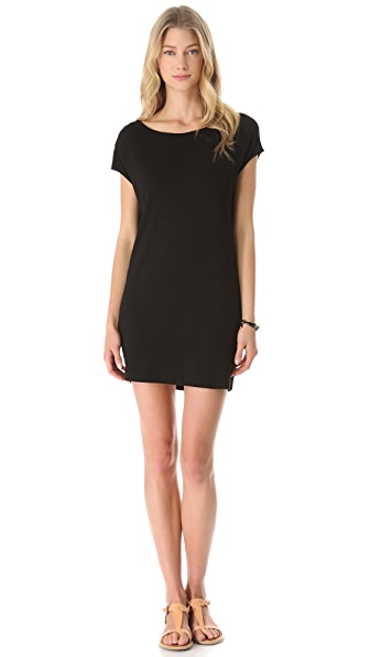 Lanston Drape Back Dress