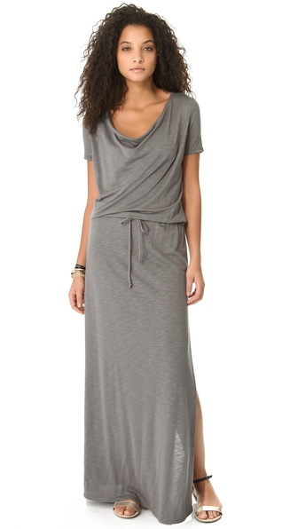 Lanston Draped Maxi Dress