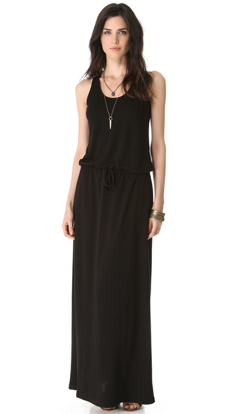 Lanston Racer Back Maxi Dress - Black at Shopbop / East Dane