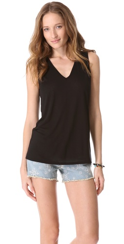 Lanston Open V Back Tank at Shopbop.com