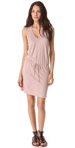 Lanston V Neck Dress with Racer Back at Shopbop / East Dane