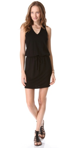 Lanston V Neck Dress with Racer Back at Shopbop.com