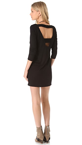 Lanston V Back Dress