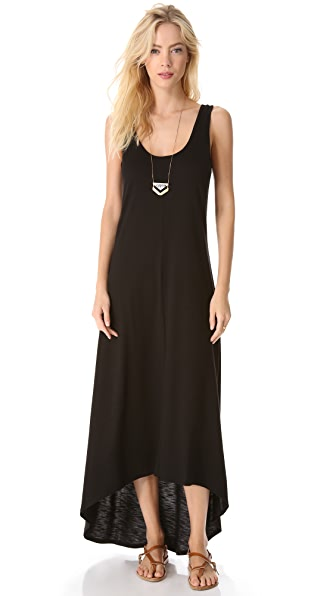Lanston V Back Maxi Dress