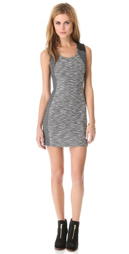 Lanston Tweed Sleeveless Dress at Shopbop / East Dane