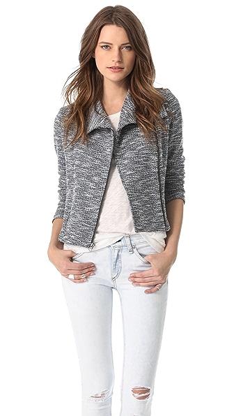 Lanston Tweed Zip Jacket