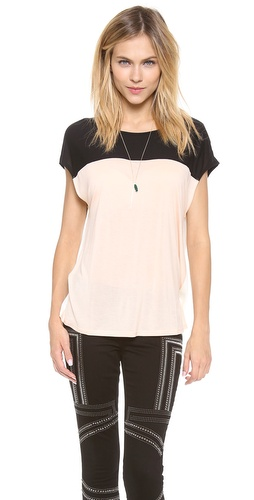 Lanston Colorblock Top at Shopbop / East Dane