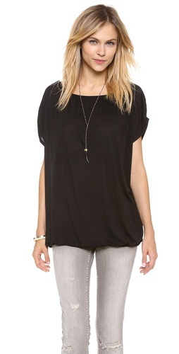Lanston Fine Gauge Boat Neck Top at Shopbop / East Dane
