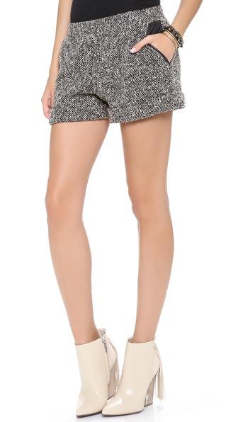Lanston Boucle Shorts
