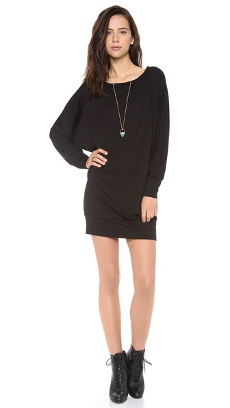 Lanston Bf Mini Dress - Black at Shopbop / East Dane